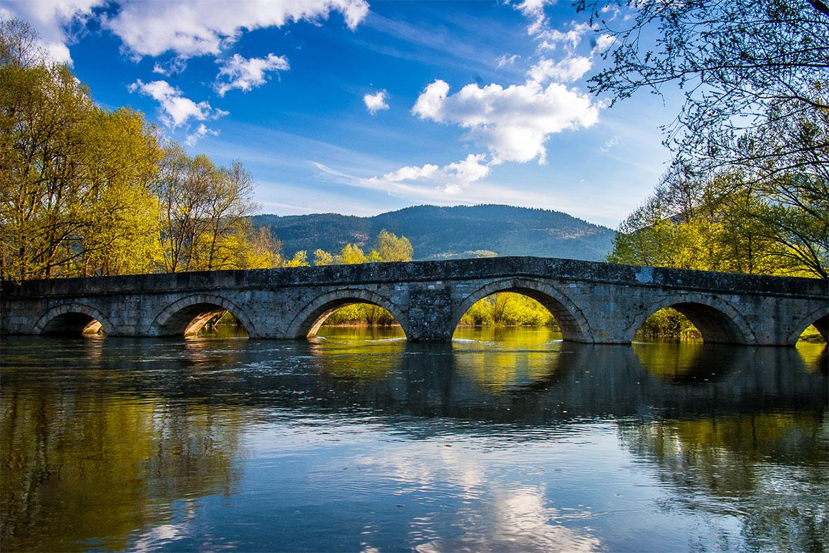 Roman Bridge at Vrelo Bosne