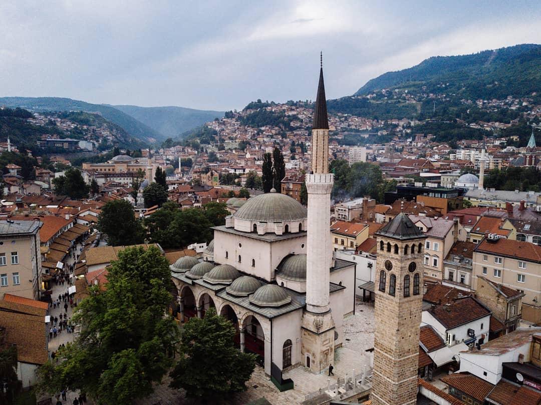 Rainy Day in Sarajevo