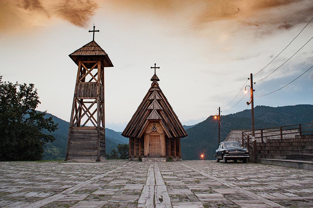 Drvengrad - Mecavnik - A wooden town in West Serbia