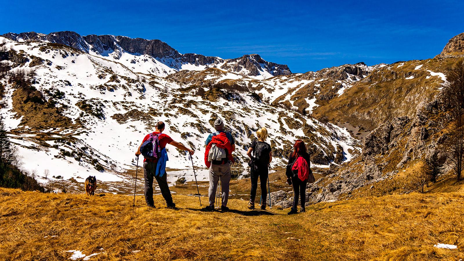 Treskavica Hiking with Funky Tours - The Big Lake