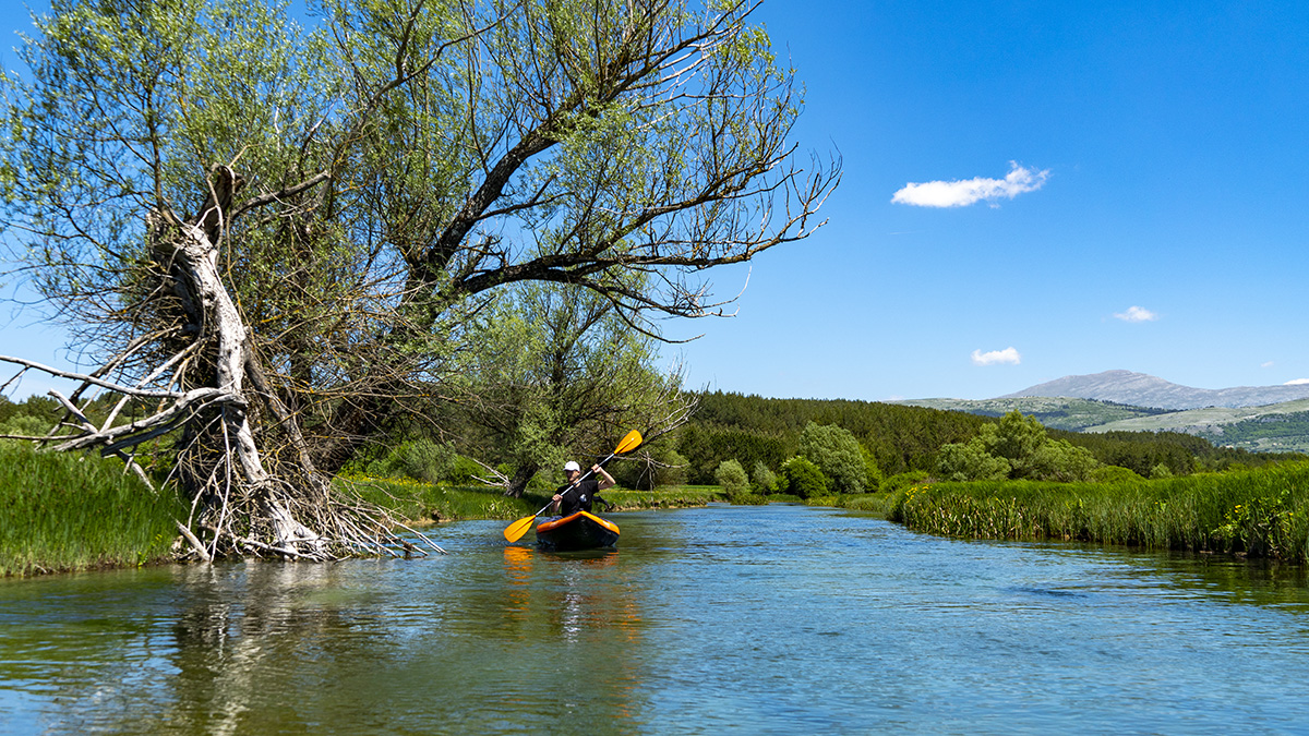Kayaking in Bosnia