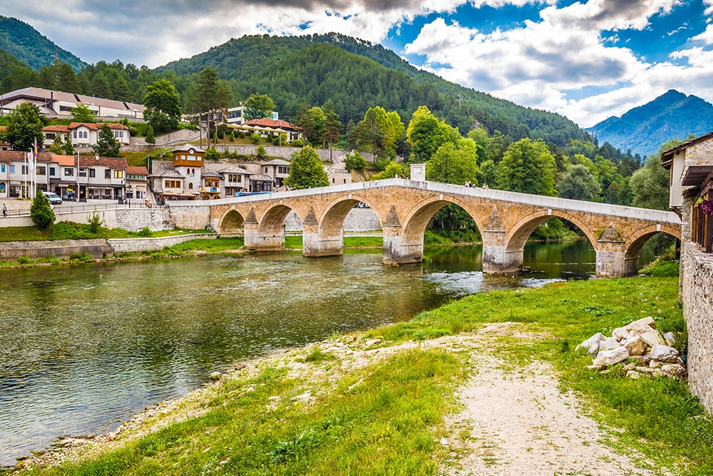 Konjic Old Bridge - Crossroad between Bosnia and Herzegovina