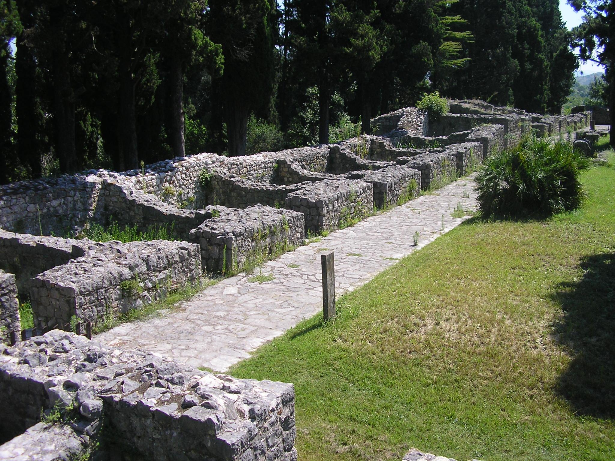 Mogorjelo, Ancient Villa Rustica