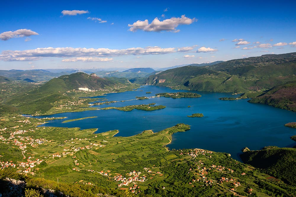 Rama Lake in Bosna and Herzegovina