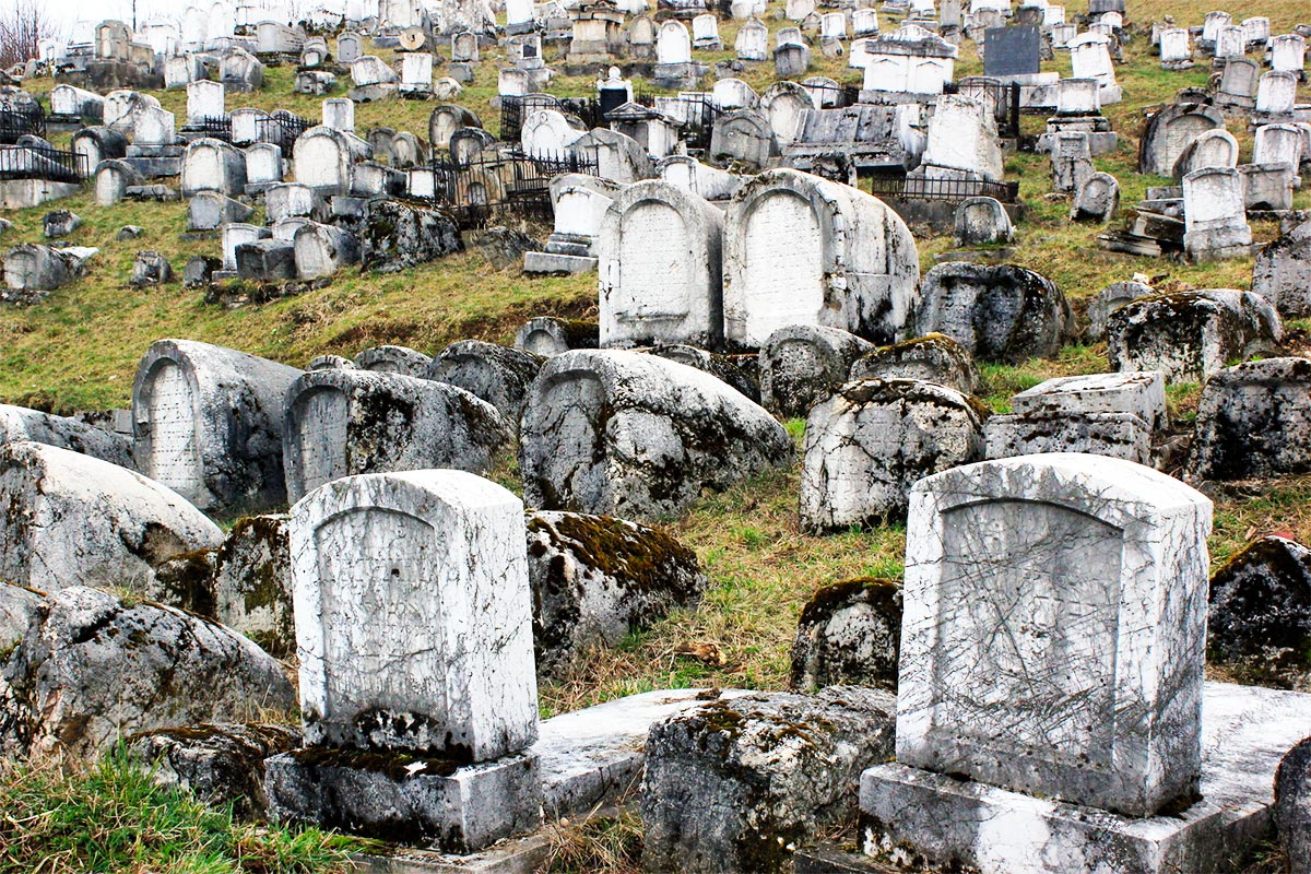 Almost 500 years old, Jewish Cemetery in Sarajevo is one of the largest Jewish cemeteries in South-East Europe.