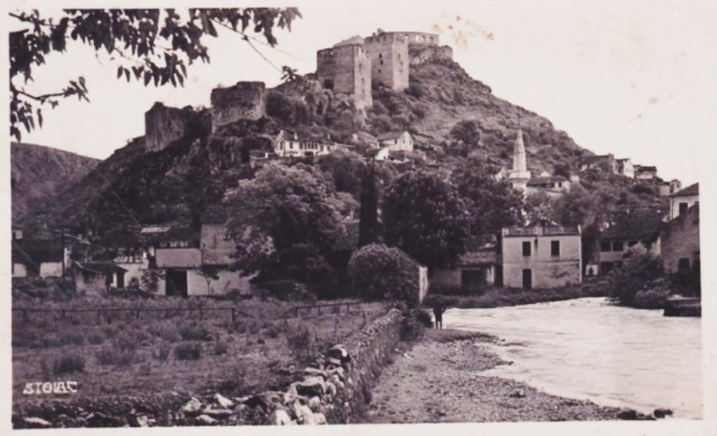 Stolac with it's fortress that was used for a long period of time as a seat of Rizvanbegović captains.