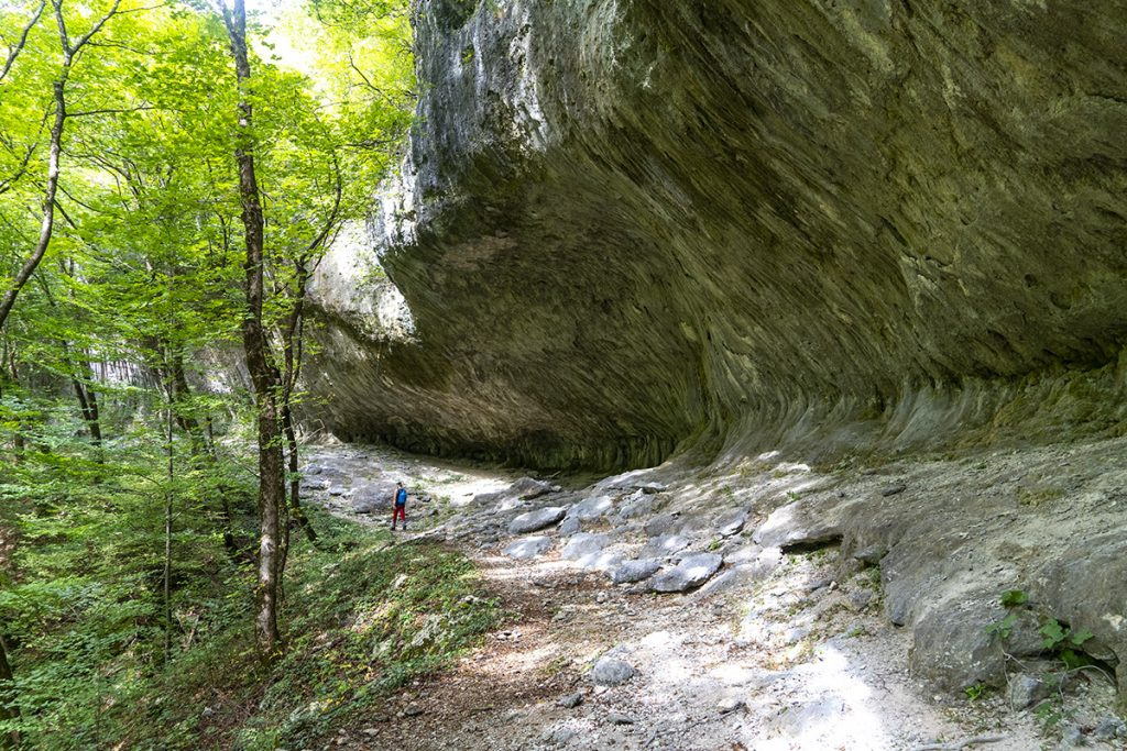 """Mostarska Bijela amazing set of rock formations called """"Kravlje pećine"""" (eng. Cow caves)"""