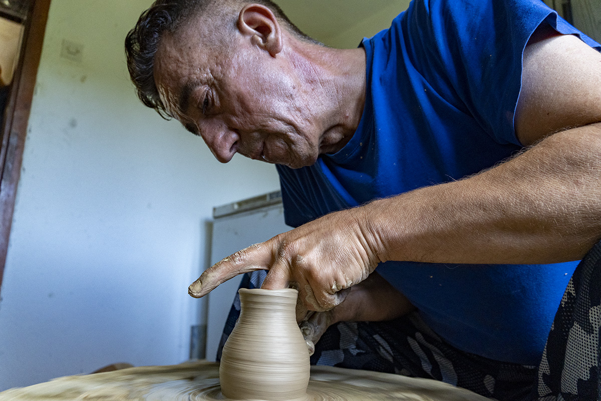 Bosnia Pottery Workshop
