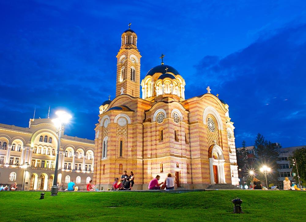 Cathedral of Christ the Saviour, Banja Luka - Bosnia and Herzegovina