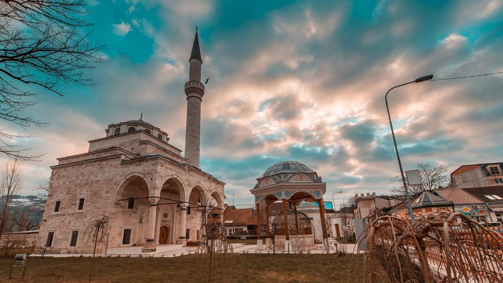Ferhadija Mosque in Banjaluka