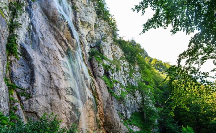 Skakavac Waterfall near Sarajevo is 98m high waterfall making it the highest in the Balkans