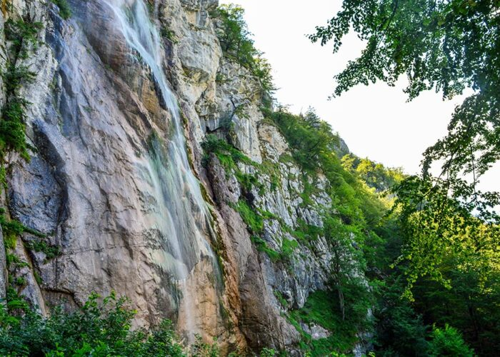 Skakavac Waterfall near Sarajevo is 98m high waterfall making it the highest in the Balkans