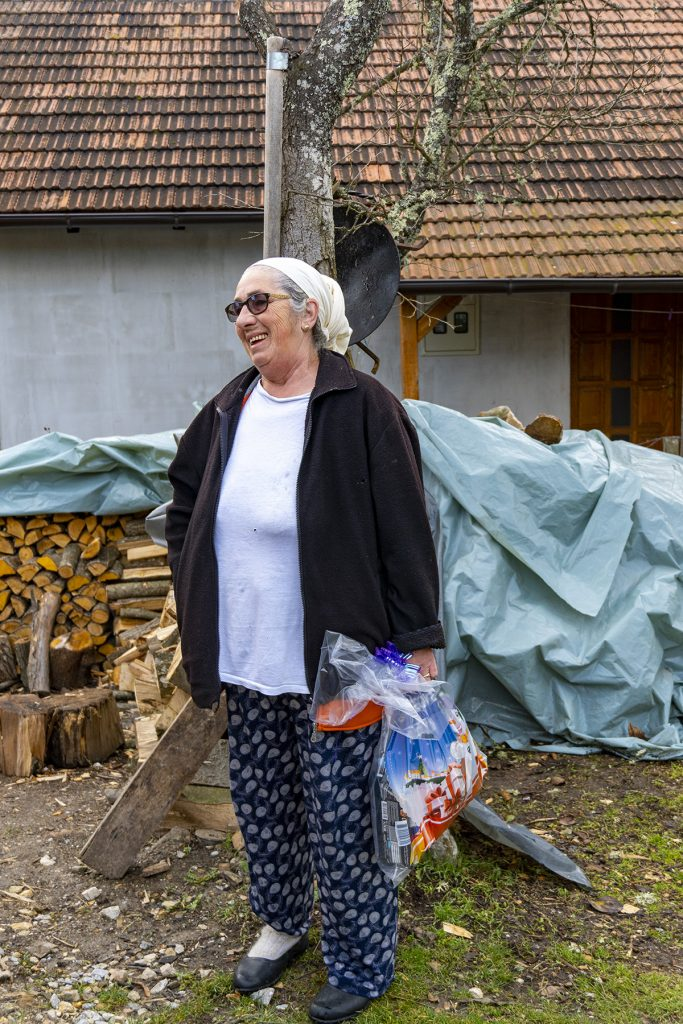 Lady from Srebrenica village