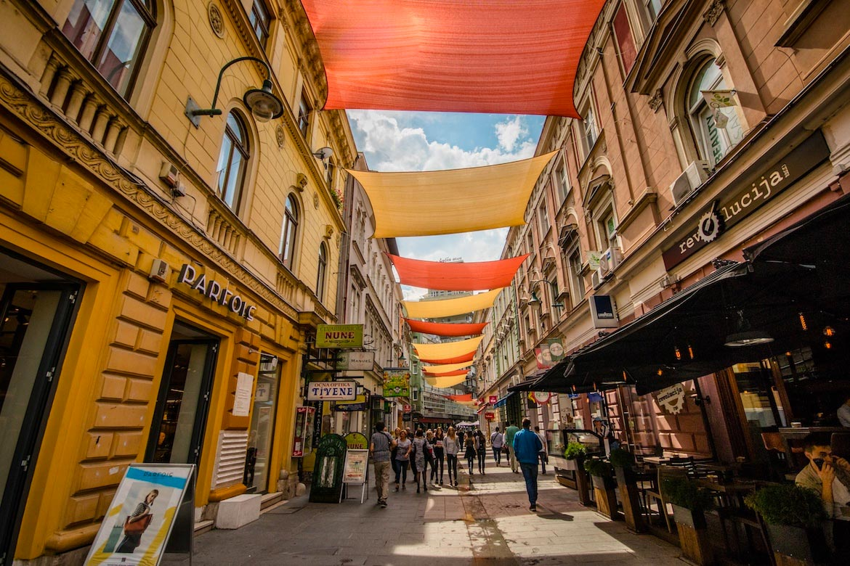 Sarajevo Ferhadija Street