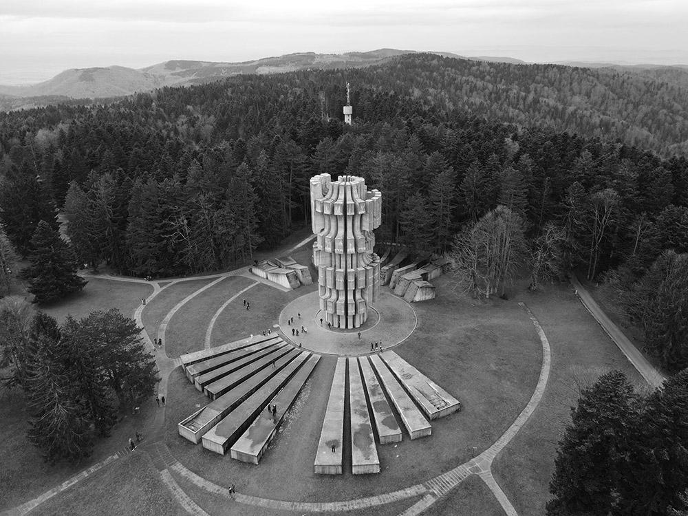Kozara Memorial to Krajina victims of the WW2 - Kozara National Park - Bosnia and Herzegovina