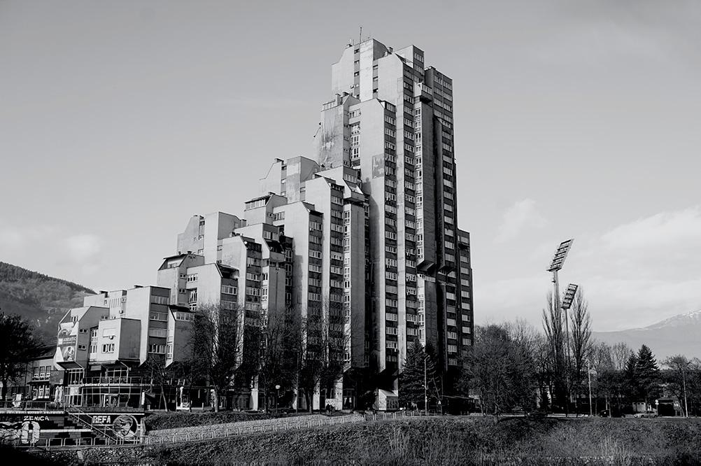 Lamela - the most amazing monument of Yugoslavian brutalist architecture in Zenica