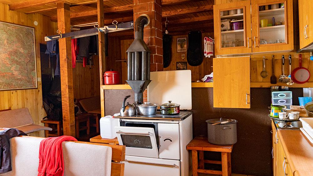 Mountain hut Vilinac at Cvrsnica mountain interior