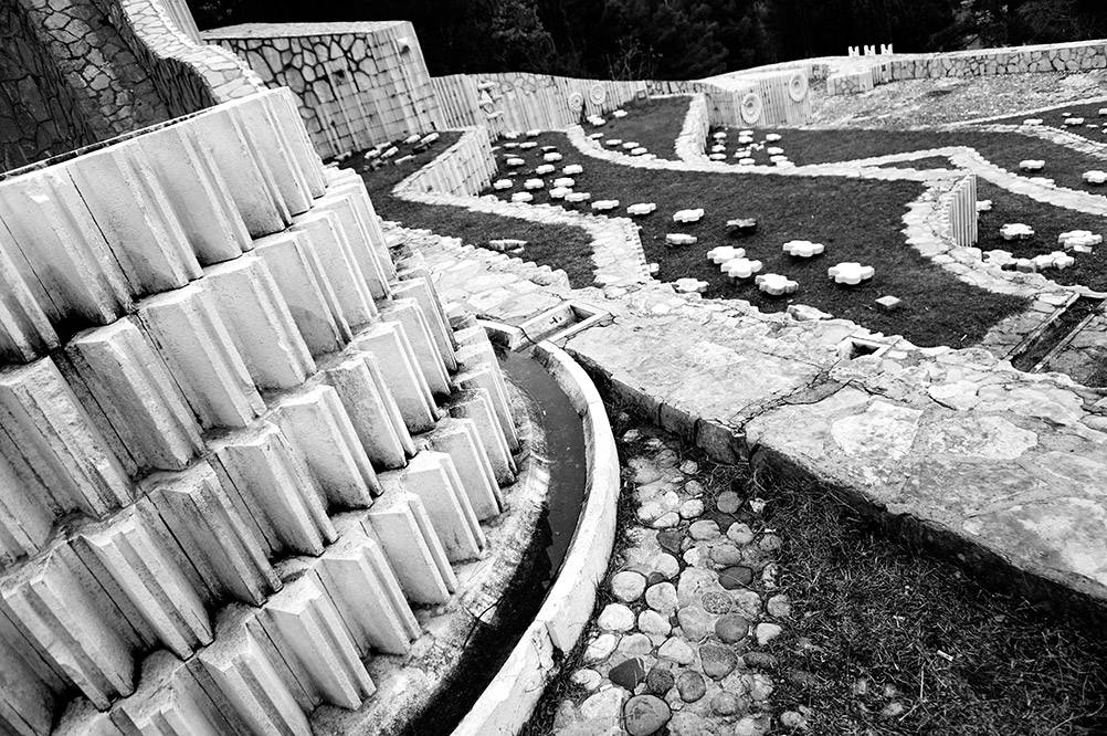 Partisan cemetery at Mostar is dedicated to the victims of the WW2
