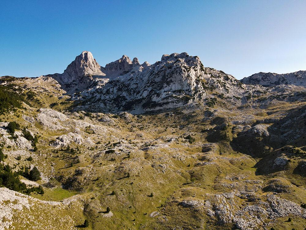 Prenj mountain peaks of Otis and Zelena glava