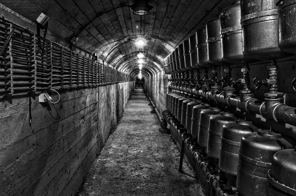 Titos Bunker in Konjic - Yugoslavian military architecture