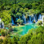Kravice Waterfalls on Trebizat river