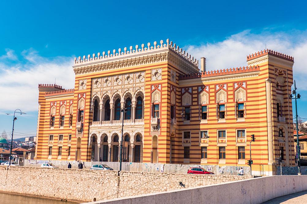 Sarajevo Vijecnica - City Hall