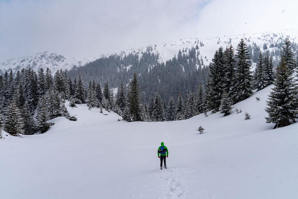 Winter time in Bosnia and Herzegovina - Prokosko Lake at Vranica mountain