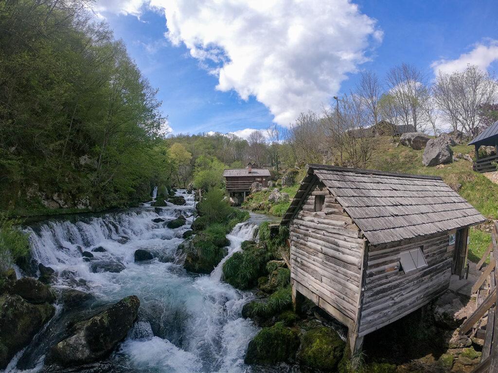Krupa na Vrbasu and famous Krupa mills