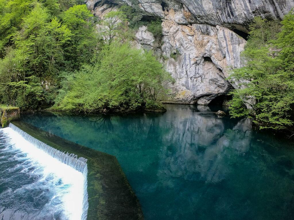 Spring of Krusnica river near Bosanska Krupa