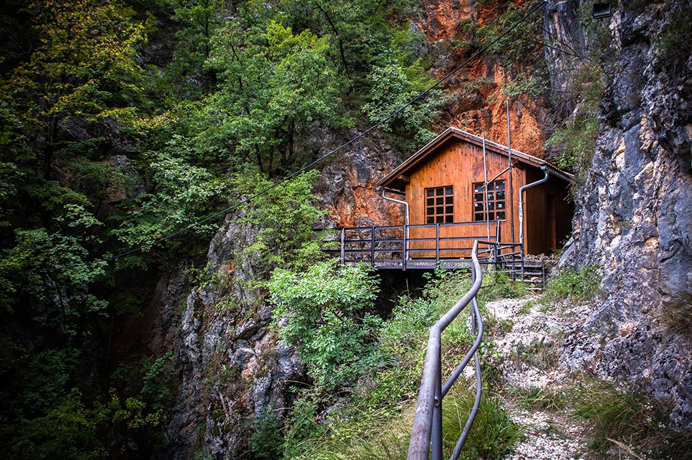 Titos Cave at Drvar (entrance)