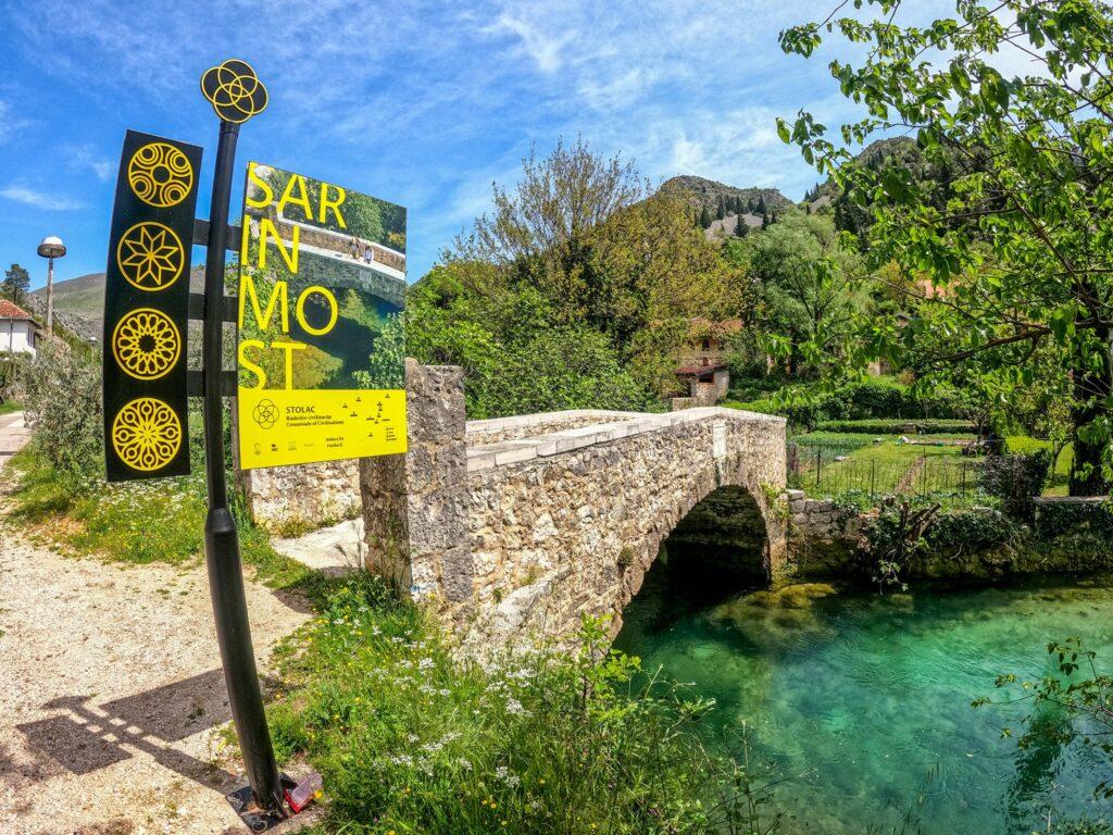 Sara's Bridge in Stolac