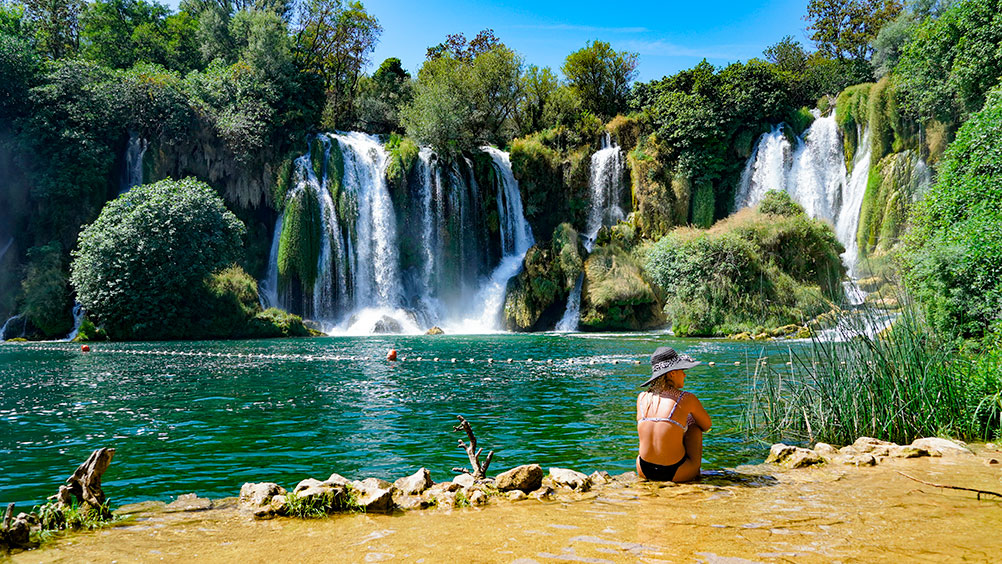 Kravica Waterfalls are ideal for summer time fun and chill