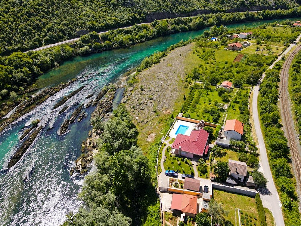 Private Villa in Herzegovina by the Neretva River