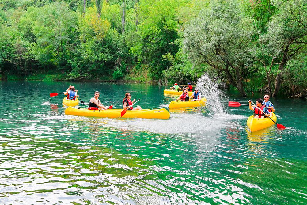 Trebizat Kayaking in Herzegovina