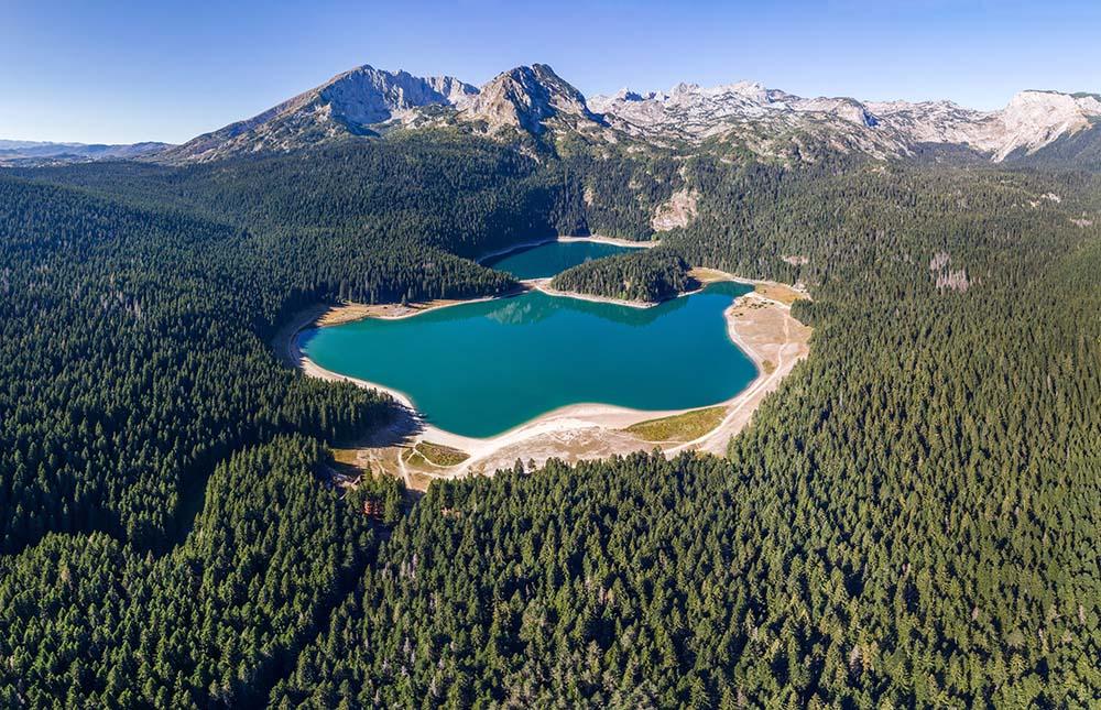Black Lake at Durmitor National Park at Montenegro