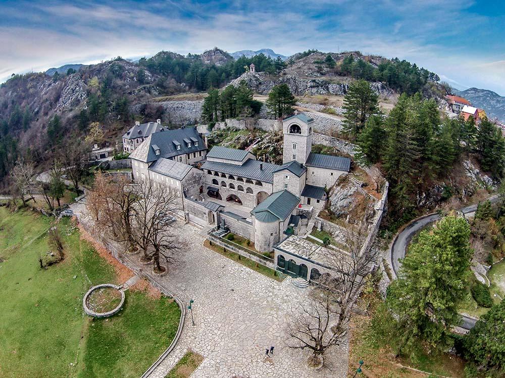 Cetinje Orthodox monastery